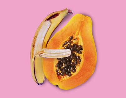Abraza una Papaya