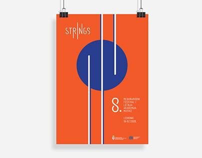 Strings - Logo design