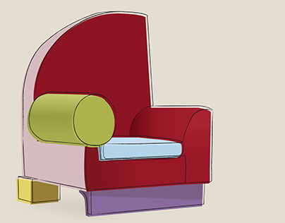 Illustrated Iconic Chairs