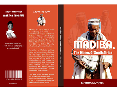 Mandela Book Cover Design