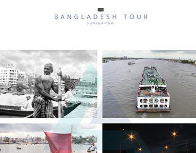 BURIGANGA RIVER AND BANGLADESH RAILWAY