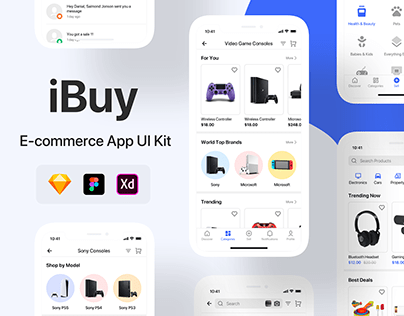 iBuy - E-commerce UI Kit