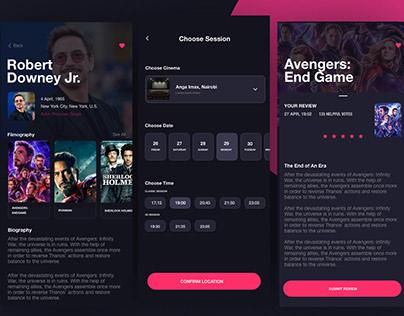Movie Theatre Booking Mobile App
