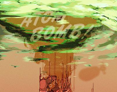 Atom Bomb Poster