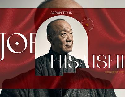UI/UX Design website of Joe Hisaishi concert