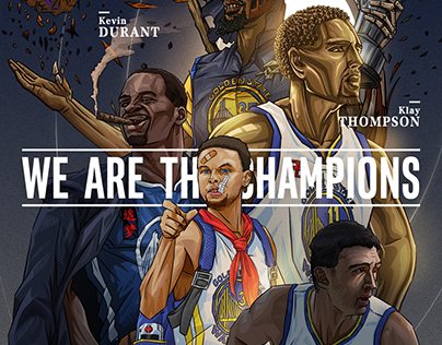 《NBA Golden State Warriors illustration》