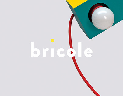 Catalogue, objects and visual identity – Bricole