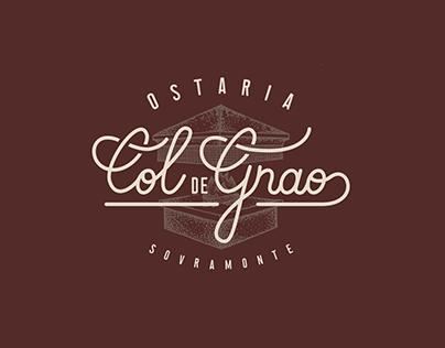 Ostaria Col De Gnao - Logo Design