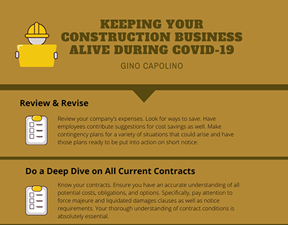 Keeping Your Construction Business Alive Gino Capolino