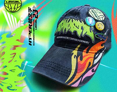 Agnostic design cap