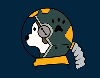 Astronaut Dog