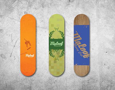 Maloof Skateboard Design Contest
