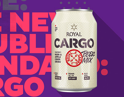 Royal Cargo branding & packaging