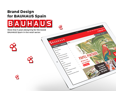 Brand Design for BAUHAUS Spain