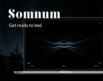 SOMNUM - Editorial Website (fictional)