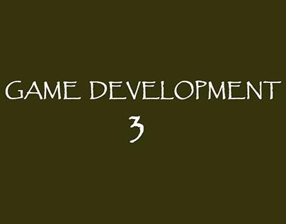 Game Development 3