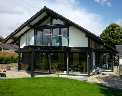 German kit built house, Upper Cumberworth.