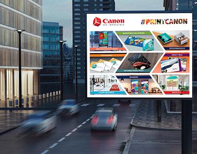 Canon Tradeshow Graphic