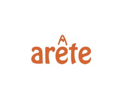 Arete logo design