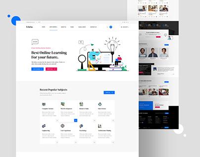 Edulan - LMS & Educational Website Design