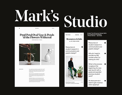 Mark's Studio — Apr'20