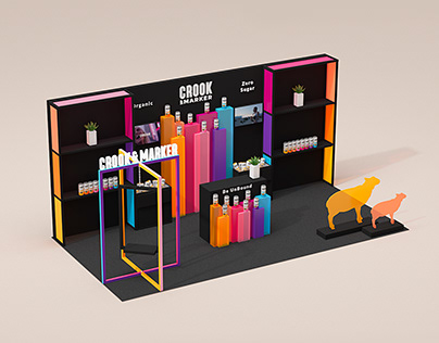 Crook & Marker Booth Design