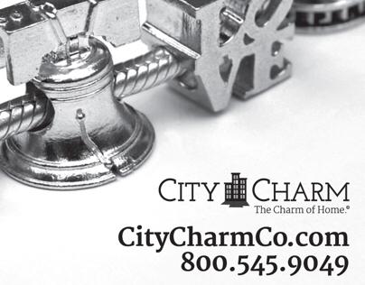 City Charm Co. Online & Print Creative