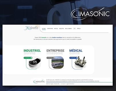 Imasonic - website