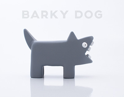 Barky Dog Art Toy