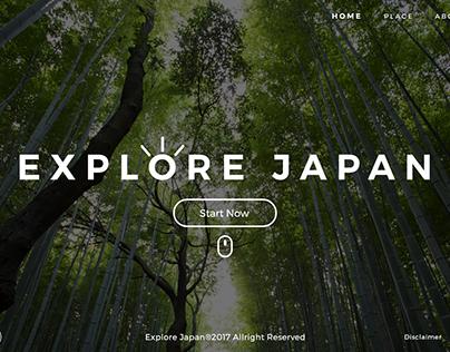 Explore Japan - Website
