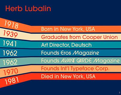 Herb Lubalin Deck