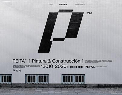PEITA™ * PAINTING & CONSTRUCTION · Branding