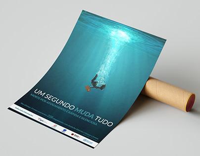 Poster Afogamento | PSA
