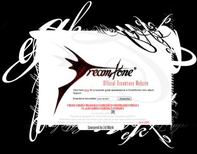 Band (Dreamtone) website 2005