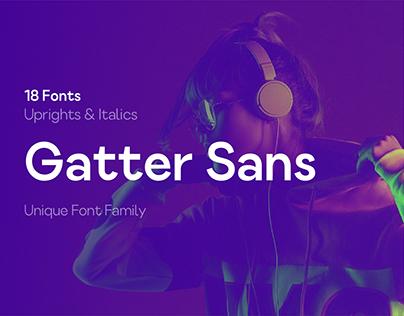 Gatter Sans - Free Font