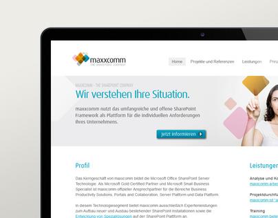 maxxcomm technology - web design