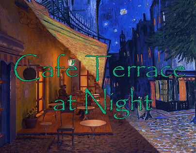Café Terrace at Night