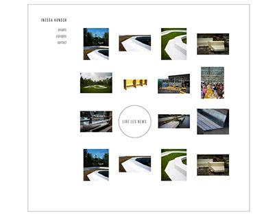 Webdesign: IHA architect   Brussels