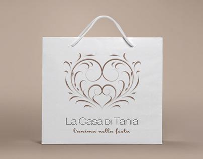 """Logo """"La casa di Tania"""""""