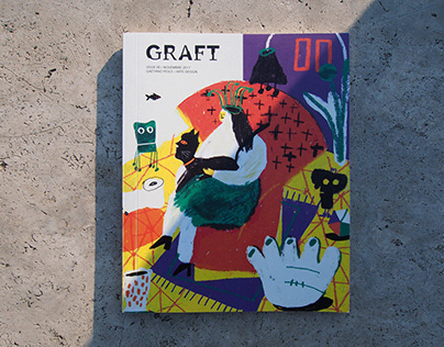 GRAFT magazine - Issue 00 Gaetano Pesce / Arte-Design