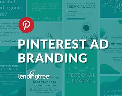 LendingTree Pinterest Ad Branding