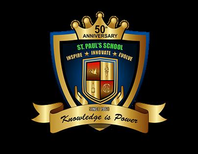 St. Paul's 50th Anniversary Logo Design