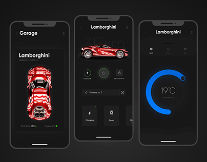 Lamborghini Smart App