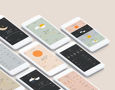 simpe weather app