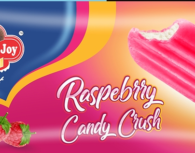 Ice Cream Candy Pouch Packaging