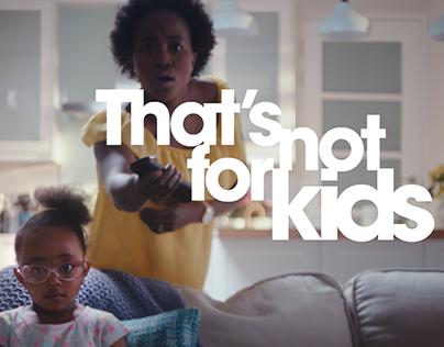 That's Not For Kids - Jet Kids TV Spots
