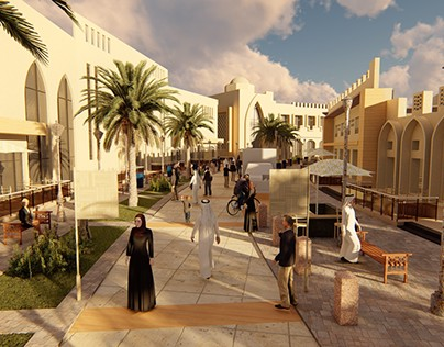 Between Historic and New Cairo/ Urban Design Project