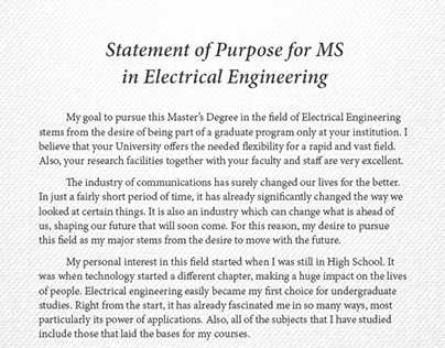 environmental engineering statement of purpose My statement of purpose i intend to apply for the phd program in educational psychology in the college of microsoft word - statement-msudoc author.