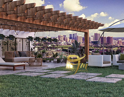 | Terrace Garden | Design Tarik Maoukan