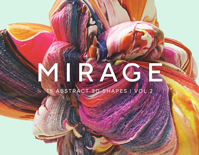 Mirage V2: 15 Abstract 3D Shapes